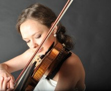 Alexandra Conunova, violon