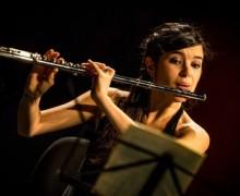 Mathilde Calderini, flûte