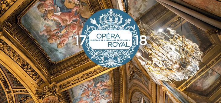 Château de Versailles spectacles: saison de concerts 2017-2018