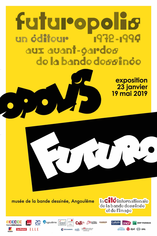 EXPOSITION «FUTUROPOLIS : 1972-1994 : aux avant-gardes de la bande dessinée»