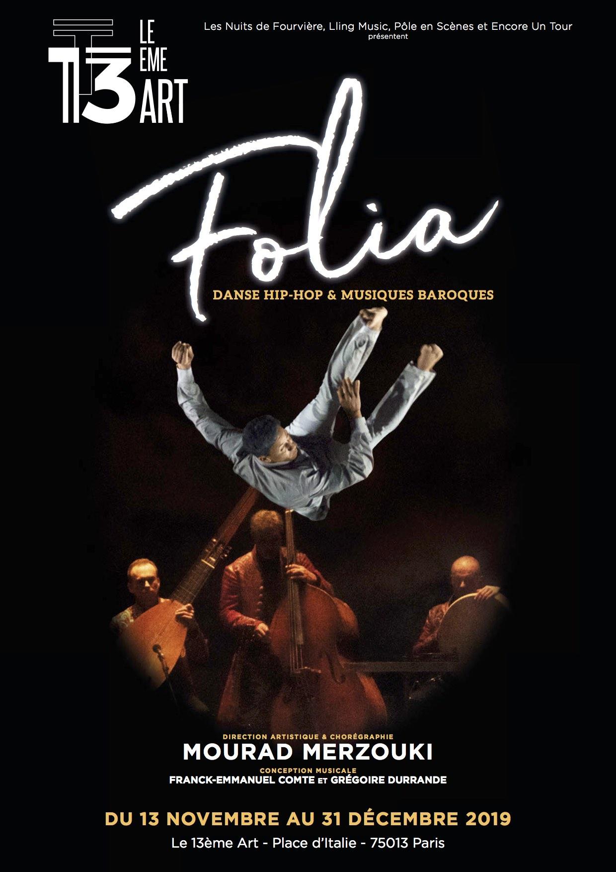 «FOLIA» de Mourad Merzouki
