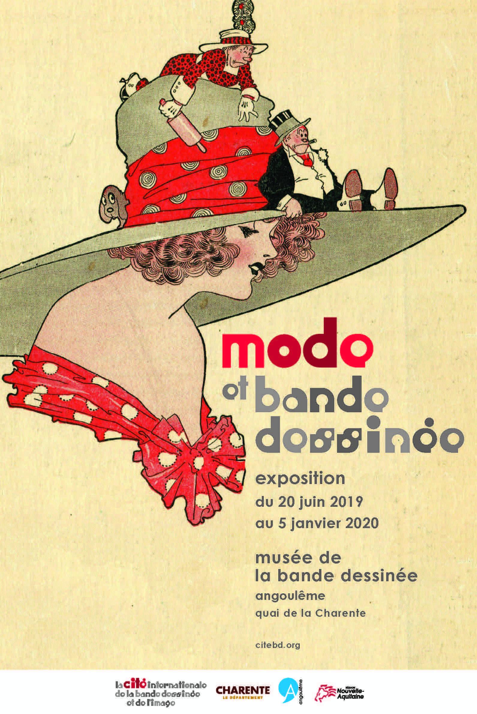 Exposition «Mode et bande dessinée»