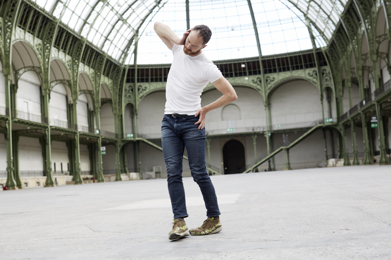 Portrait Boris Charmatz au Festival d'Automne à Paris