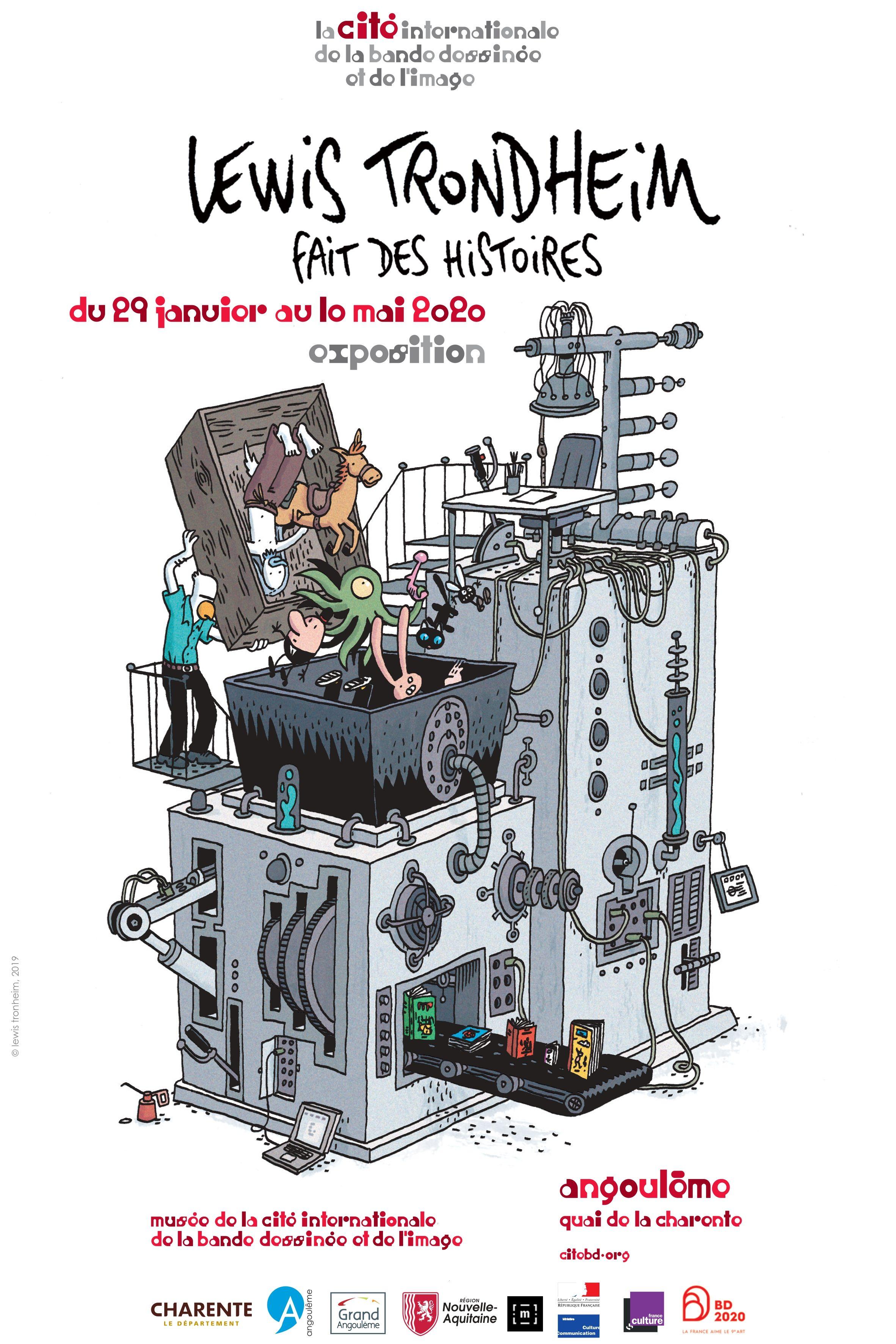 Archivé: Cité Internationale de la bande dessinée et de l'image – Angoulême
