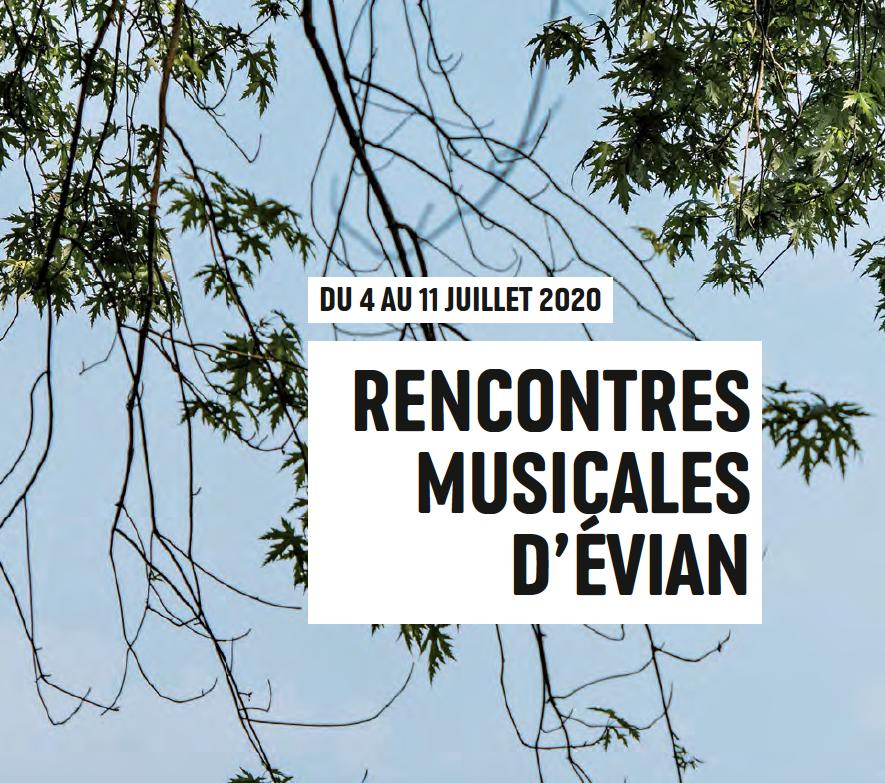 Archivé: Rencontres musicales d'Évian